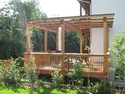 Holzterrassen 03 - Gartentor pergola ...